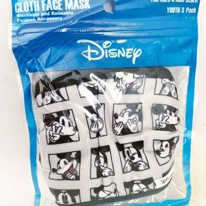 Disney Cloth Mikey Mouse Reusable Youth Masks